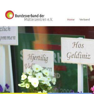 Website | Bundesverband der Mütterzentren e.V.