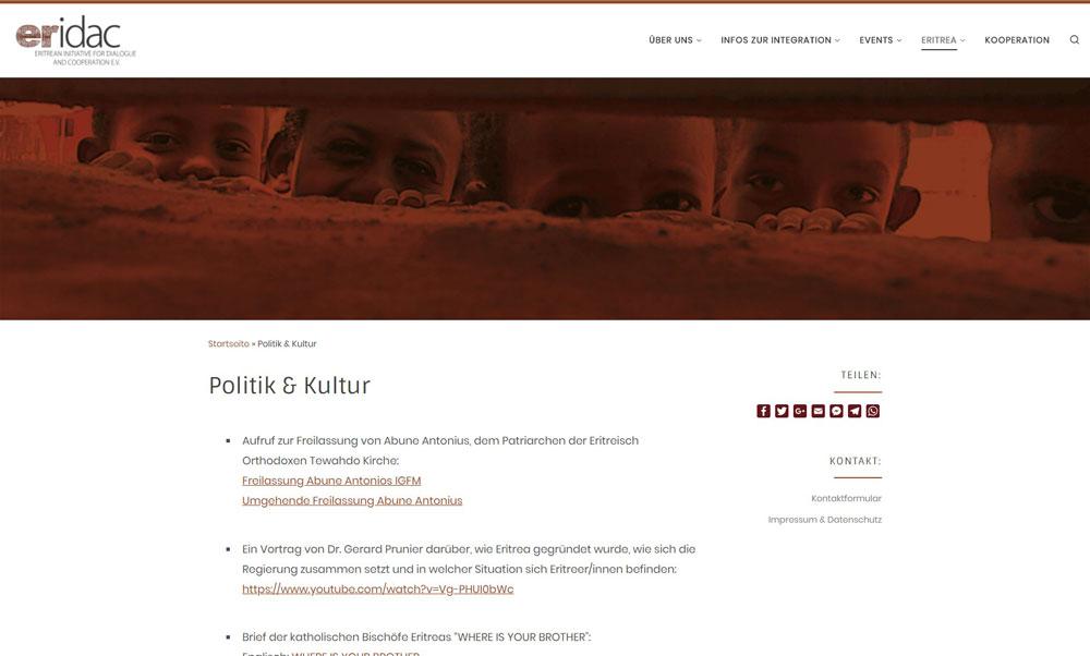 Website | eridac e.V.