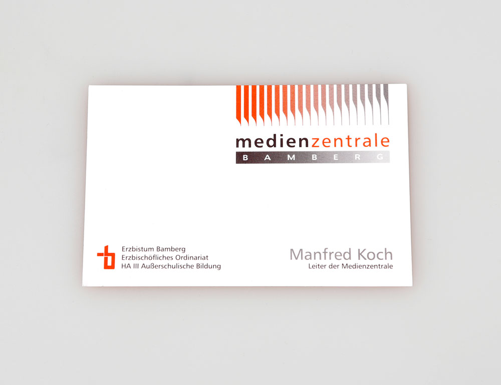 Corporate Design | Medienzentrale Bamberg