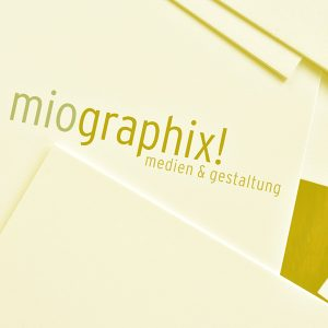 miographix! Berlin Angebot Layout & Printdesign