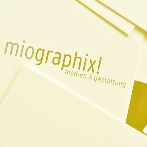 miographix! Berlin Angebot Layout & Printdesign