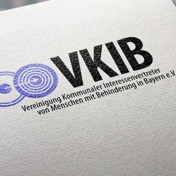 Logo | VKIB Vereinigung kommunaler Interessenvertreter von Menschen mit Behinderung in Bayern e.V.
