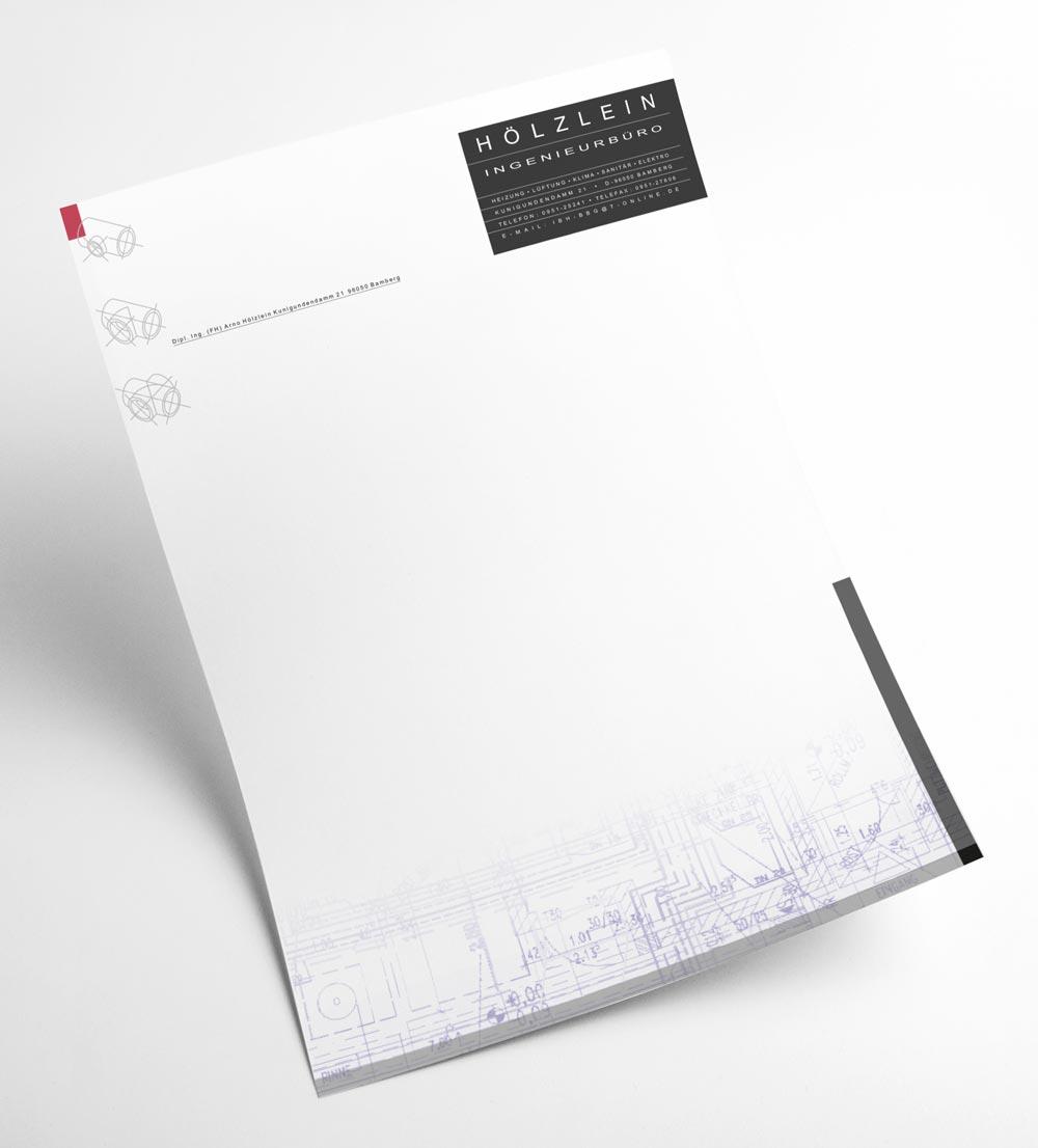 Briefbogen | Hölzlein Ingenieurbüro