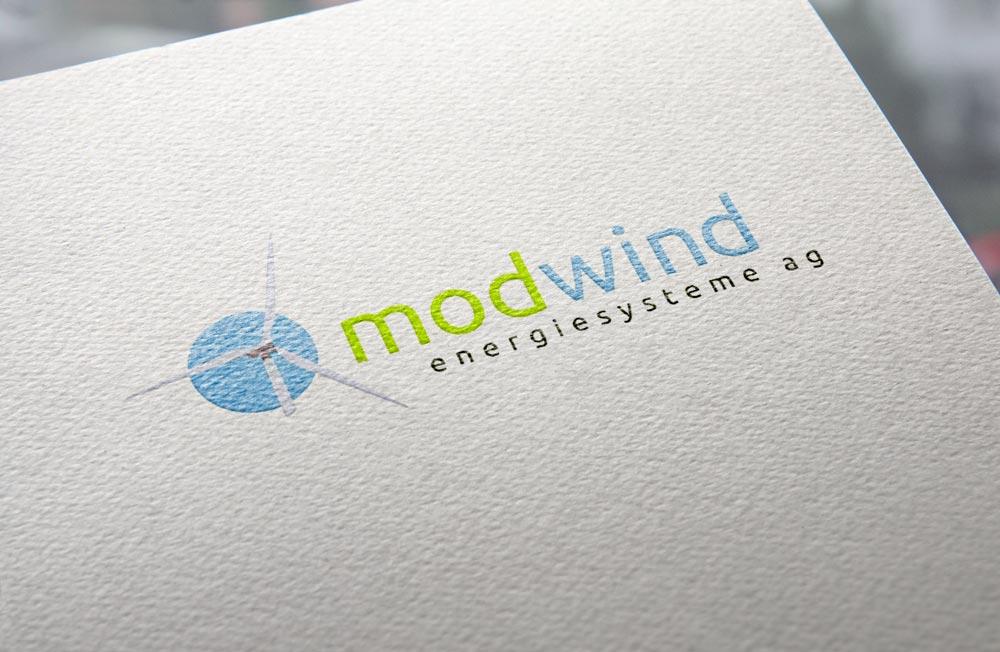 Logo | Modwind Energiesysteme AG