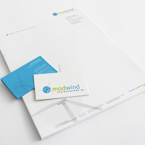 Corporate Design | Modwind Energiesysteme AG