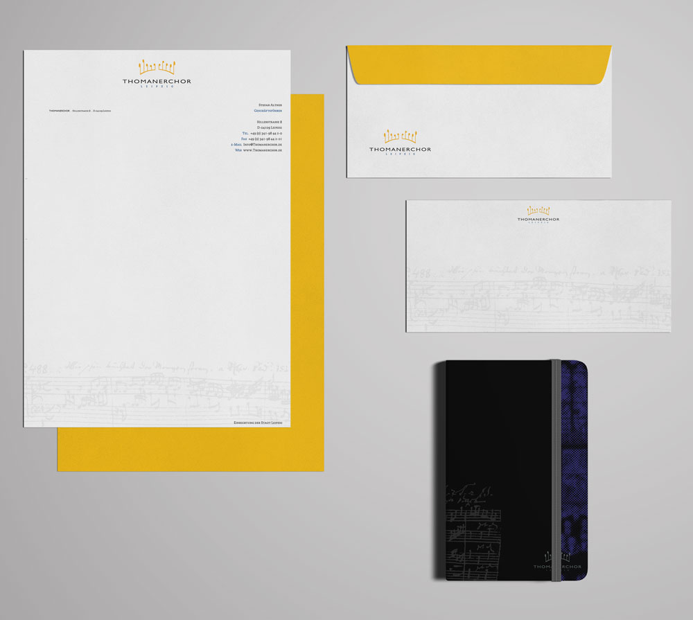 Corporate Design | Thomanerchor Leipzig