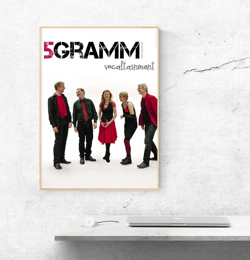 Plakat | 5 Gramm