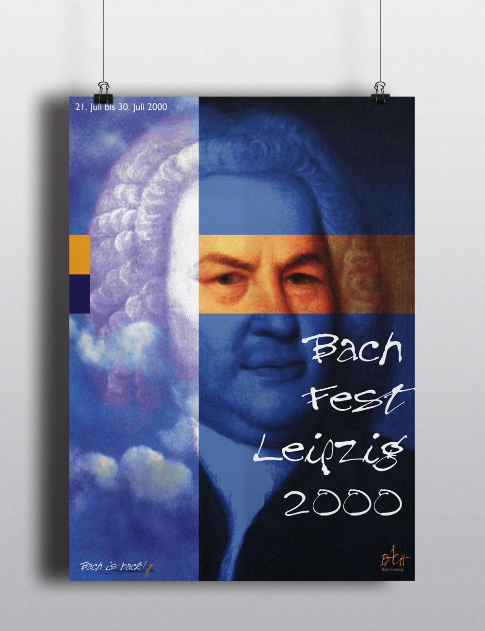 Plakat | Bachfest Leipzig