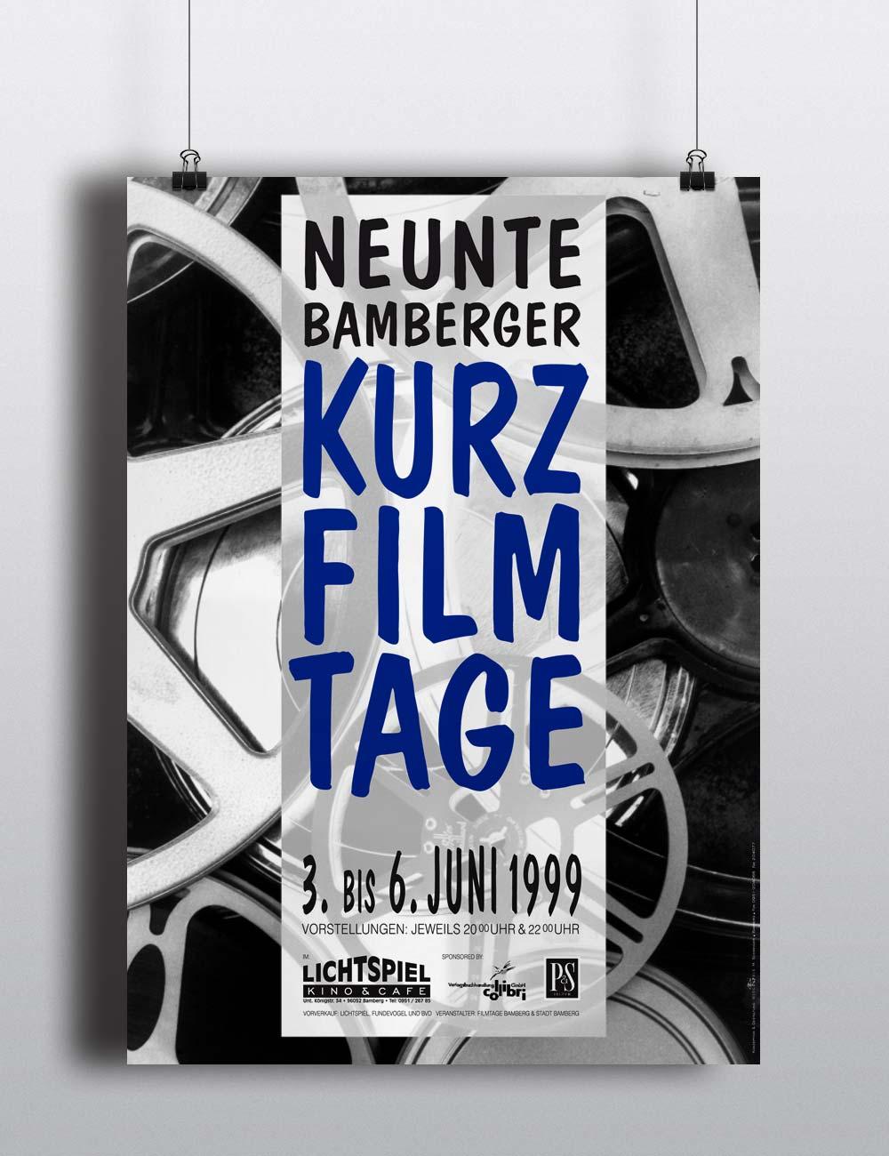 Plakatserie | Kurzfilmtage Bamberg
