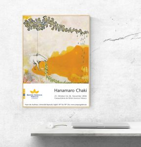 Plakat Hanamaro Chaki | CampusGalerie der Britsh American Tobacco GmbH
