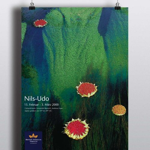 Plakat Nils Udo | CampusGalerie der Britsh American Tobacco GmbH