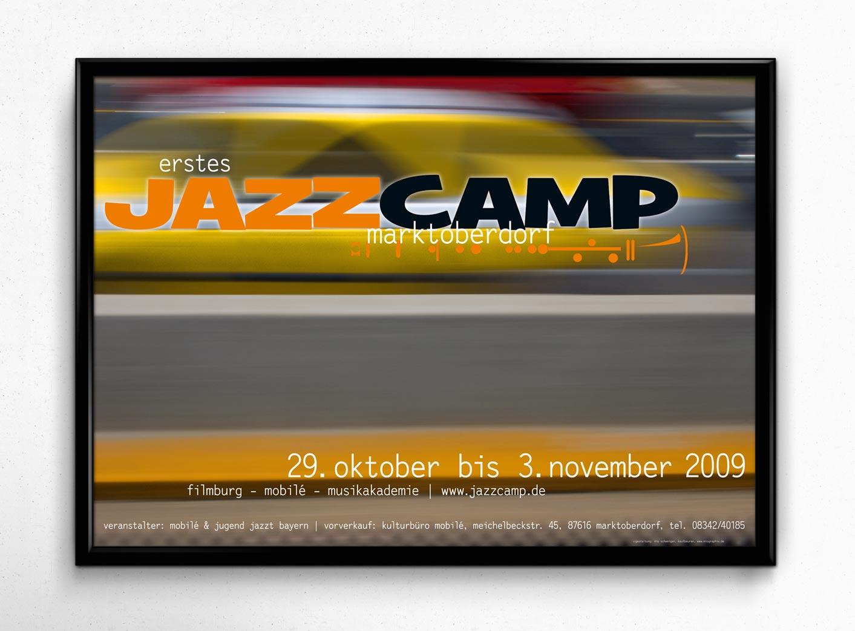 Plakat | Jazzcamp Marktoberdorf