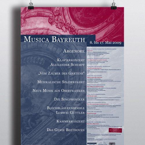 Plakat | Musica Bayreuth