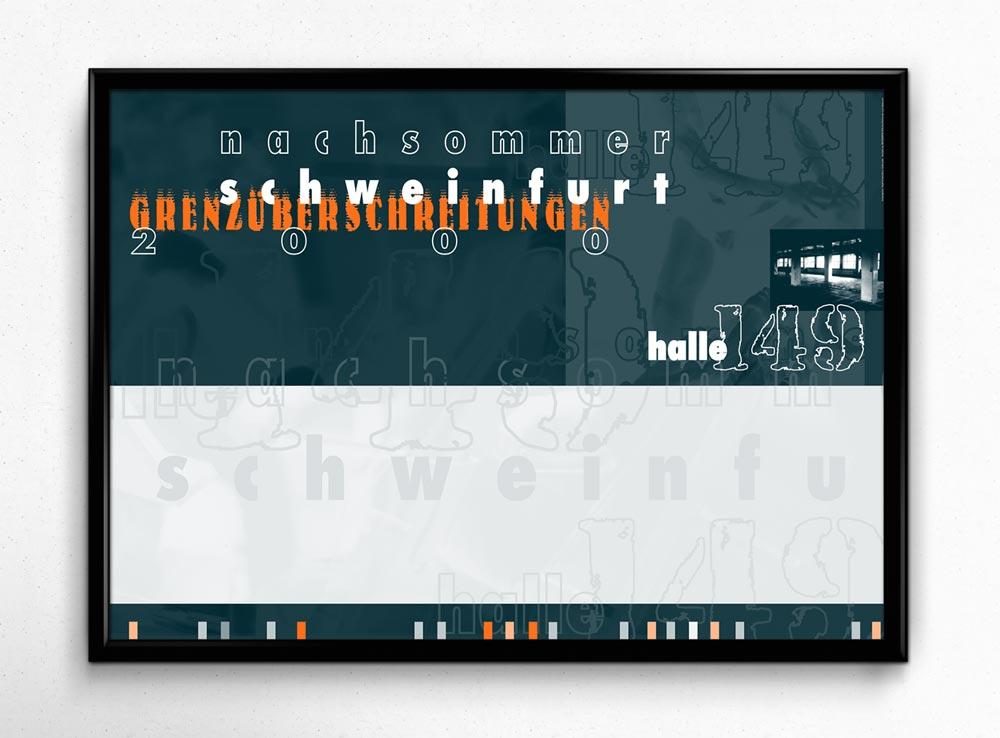 Eindruck-Plakat | Kulturprogramm Nachsommer Schweinfurt