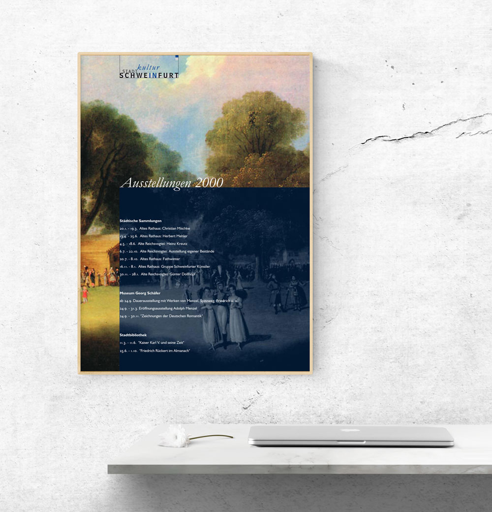 Plakatserie | Stadtlkultur Schweinfurth