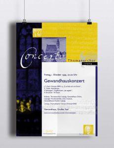 Eindruckplakat | Thomanerchor Leipzig