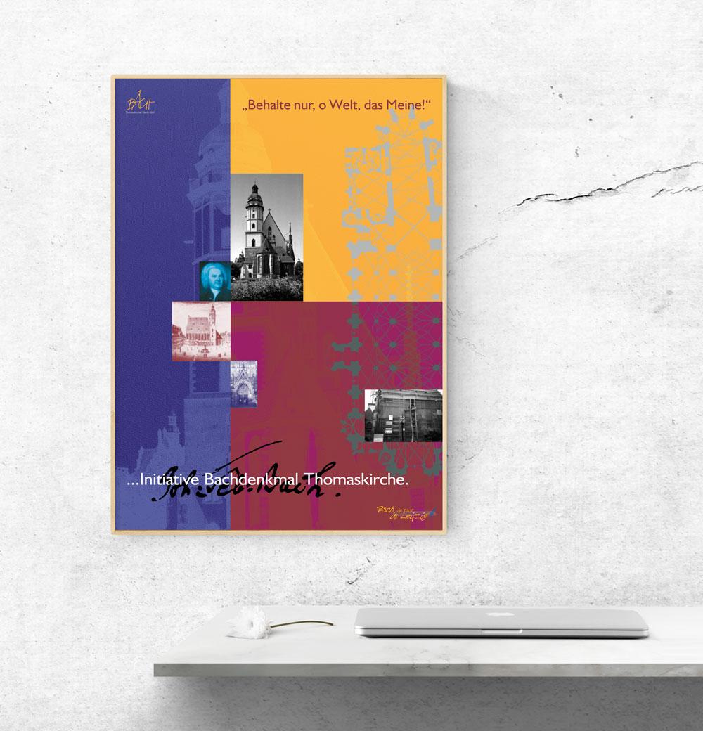 Plakat | Initiative Bachdenkmal Thomaskirche Leipzig